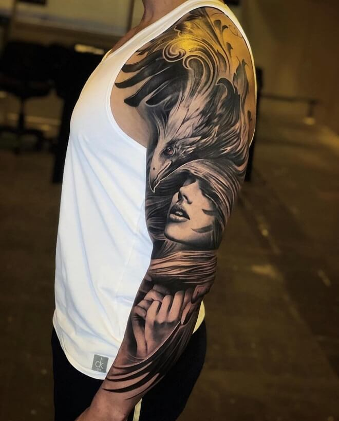 Realistic Cool Tattoo