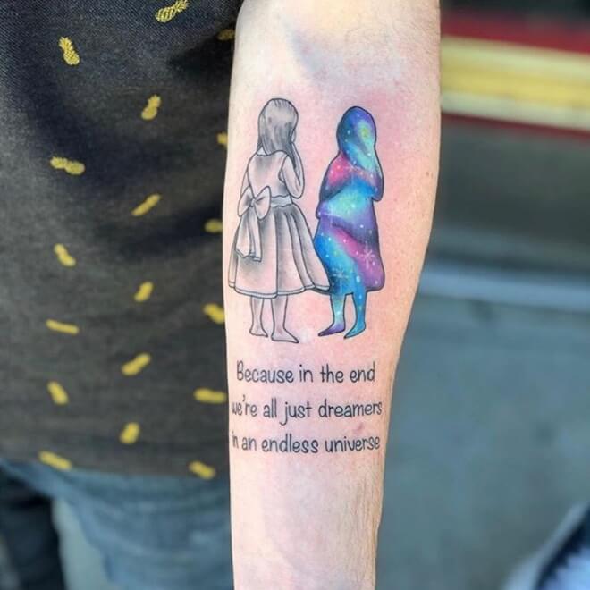 Script Girl Tattoo