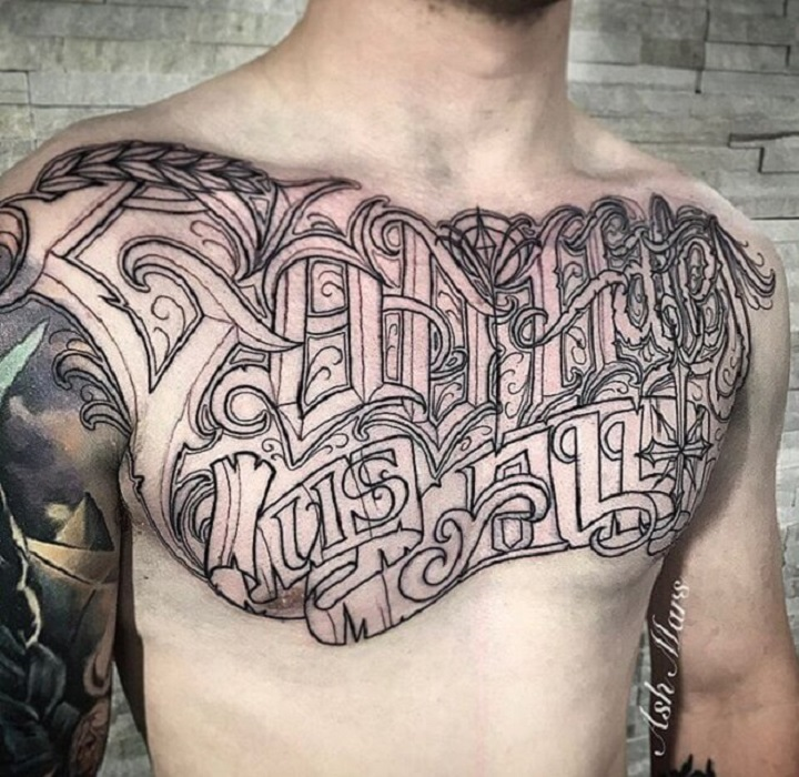 Top 30 Chest Tattoos For Men Inspirational Chest Tattoo Designs Ideas Chest tattoos for men are very popular from ancient times. inspirational chest tattoo designs ideas