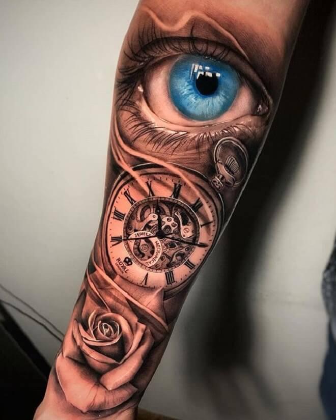 Simple Arm Tattoos Designs