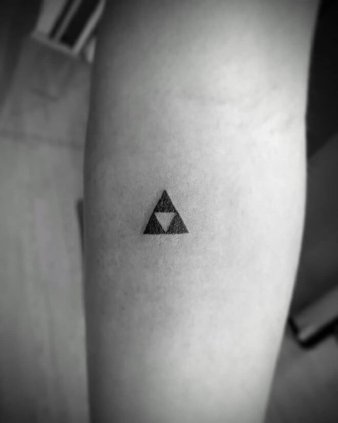 Simple Triforce Tattoo