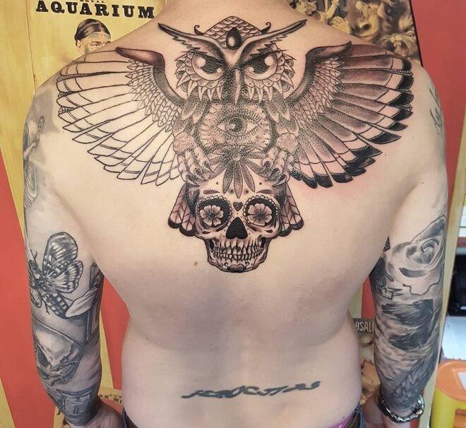 Sugar Skull Cool Tattoo