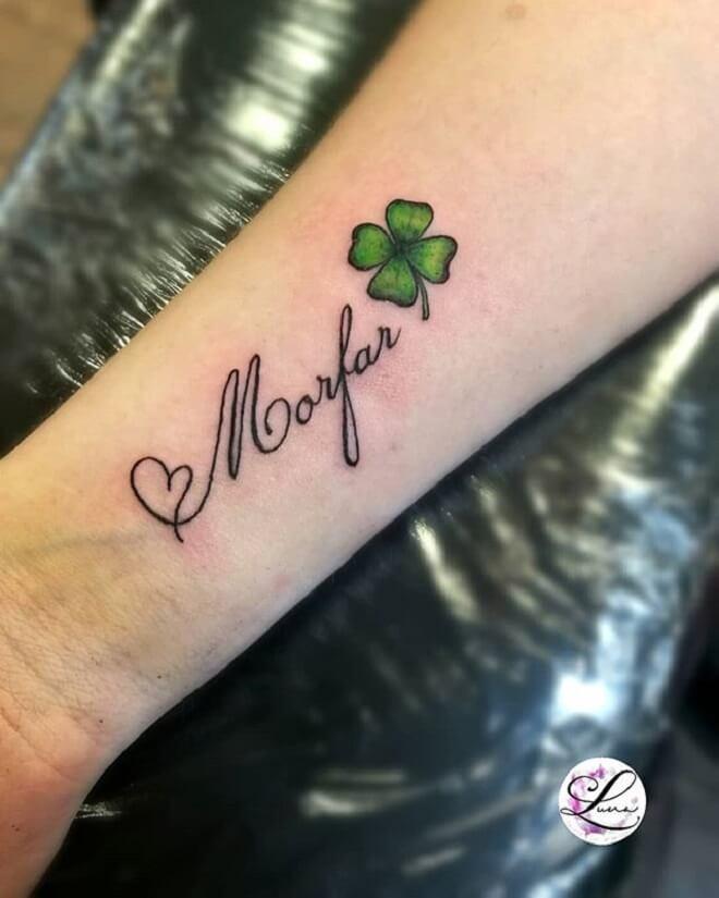 Text Tattoo Art