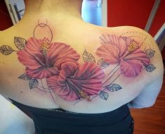 Top Hibiscus Tattoo