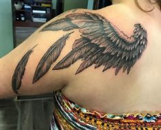 Top Wing Tattoo