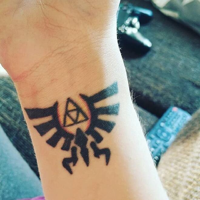 Triforce Tattoo Art
