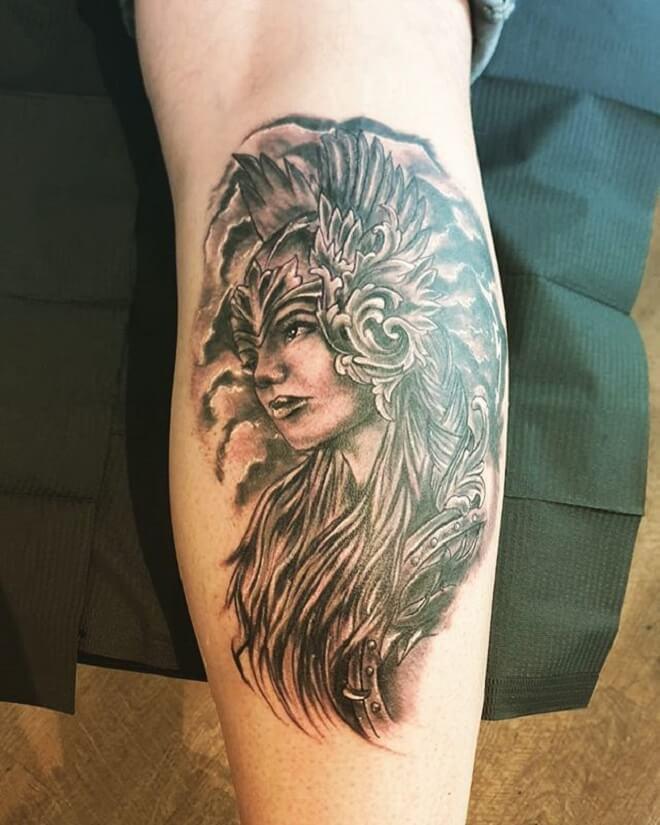 Valkyrie Tattoo Art